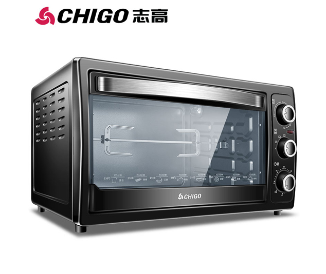 志高家用38L多功能电烤箱